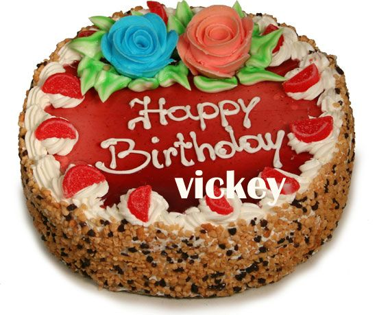 Birthday Cake For Vicky