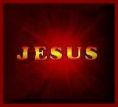 Jesus (dark red)