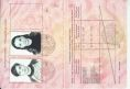 A page from my International passport