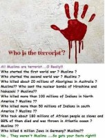 who is the terrorist?