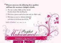 THREE QUALITIES