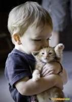 BABY WID HIS CAT