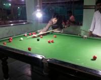 me on pool table