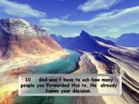 God Wont Ask 10