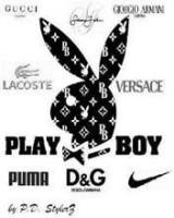 Design label playboy