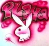 Pink spray player playboy