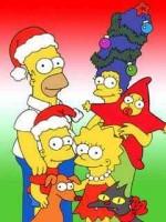 Simpsons xmas pik