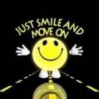 Just smile n move on
