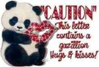 Caution.mail ful of hugs