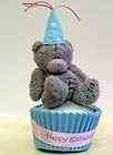 Teddy on cake