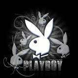 Black spray playboy