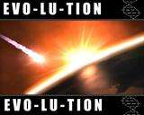Evolution logo amagaddon