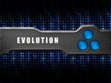 Evolution logo blue dots