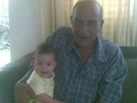 Oupa and Christiaan