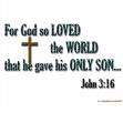 For God so loved the worl