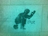 i poo by  banksy