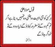Farman Hazrat Ali (RZ) 1