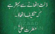 Farman Hazrat Ali (RZ)