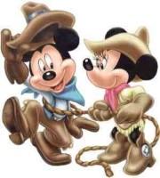 disney mickey minnie cowb